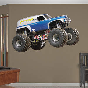 Grave Digger - The Legend Fathead Wall Decal