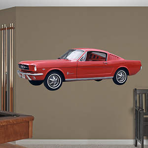 1965 Mustang Fathead Wall Decal
