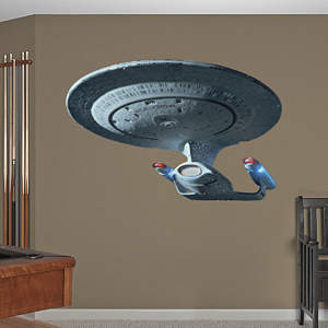 U.S.S. Enterprise NCC-1701-D  Fathead Wall Decal