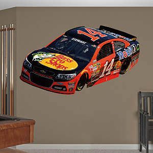 Tony Stewart 2014 Bass Pro #14 Car Fathead Wall Decal