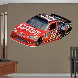 Tony Stewart #14 Office Depot Car 2012 Fathead Wall Decal