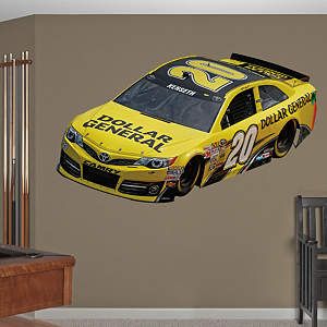 Matt Kenseth 2013 Dollar General Car Fathead Wall Decal