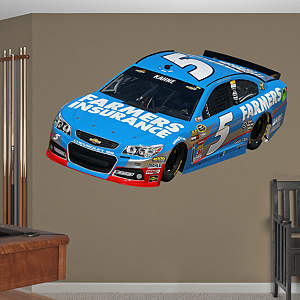 Kasey Kahne 2013 Farmers Car Fathead Wall Decal