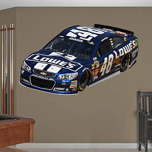 Jimmie Johnson 2013 Lowes Car Fathead Wall Decal