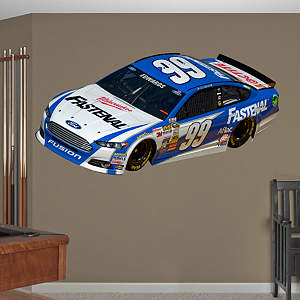 Carl Edwards #99 Fastenal Car  Fathead Wall Decal