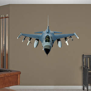 F-16 Fighting Falcon Fathead Wall Decal