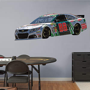 Dale Earnhardt Jr. #88 Diet Mountain Dew Car Fathead Wall Decal