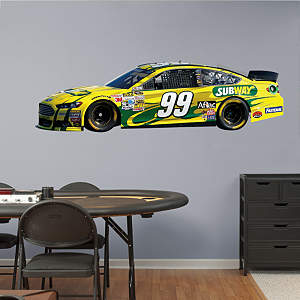 Carl Edwards #99 Subway Car 2013 Fathead Wall Decal
