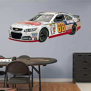 Dale Earnhardt Jr. - 2014 National Guard Car Fathead Wall Decal