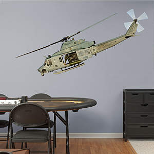 UH-1 Huey Fathead Wall Decal