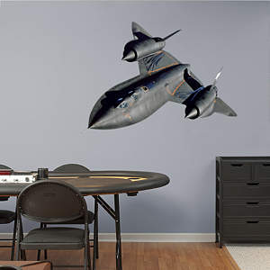 SR-71 Blackbird Fathead Wall Decal