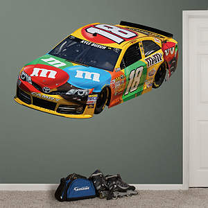 Kyle Busch 2013 M&M's Car Fathead Wall Decal