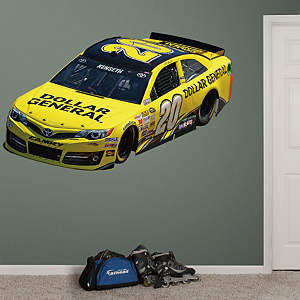 Matt Kenseth #20 Dollar General Car Fathead Wall Decal