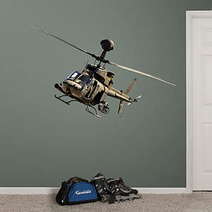OH-58 Kiowa Warrior Fathead Wall Decal