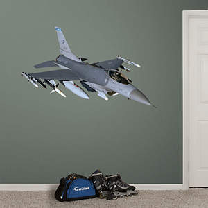 F-16 Falcon  Fathead Wall Decal