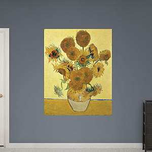 Sunflowers By Vincent van Gogh Fathead Wall Decal