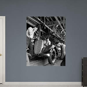 Rouge Plant: Chassis (Henry Ford Museum) Fathead Wall Decal