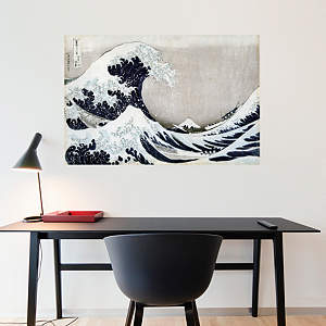 The Great Wave off Kanagawa by Katsushika Hokusai Fathead Wall Decal
