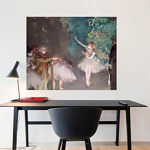 Ballet Rehearsal by Edgar Degas Fathead Wall Decal