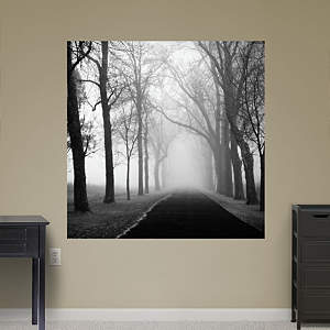 The Foggy Lane by Keith Dotson Fathead Wall Decal