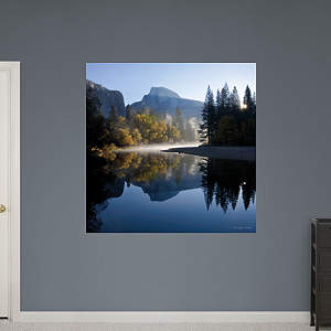 Autumn Sunrise, Half Dome, and the Merced River by Michael Frye Fathead Wall Decal