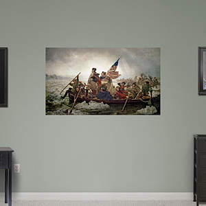 Washington Crossing the Delaware by Emanuel Leutze Fathead Wall Decal