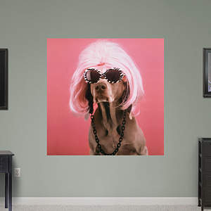 Glamour Puss by William Wegman Fathead Wall Decal