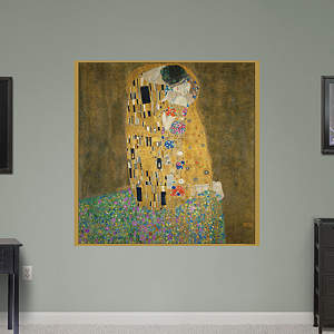 The Kiss by Gustav Klimt Fathead Wall Decal