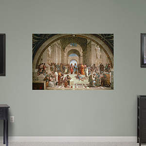 School of Athens by Raphael Fathead Wall Decal