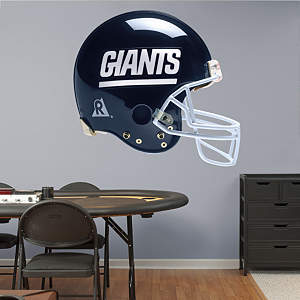 New York Giants Throwback Helmet Fathead Wall Decal