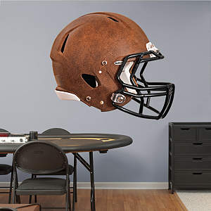 Washington Redskins Leather Helmet Fathead Wall Decal