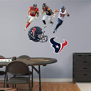 JJ Watt Hero Pack Fathead Wall Decal