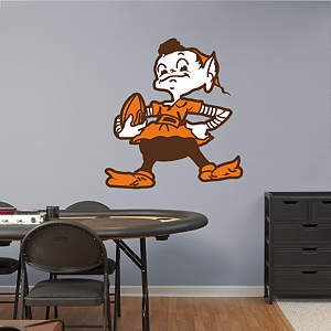 Cleveland Browns Classic Logo Fathead Wall Decal