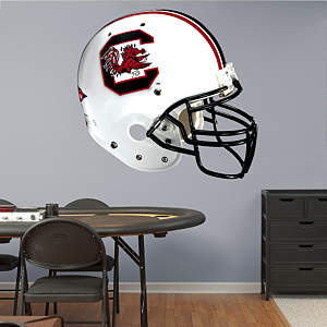 South Carolina Gamecocks Helmet Fathead Wall Decal
