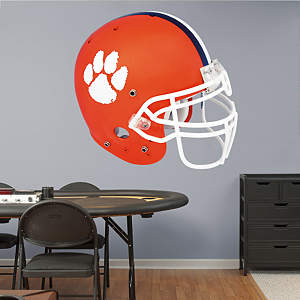 Clemson Tigers Helmet Fathead Wall Decal