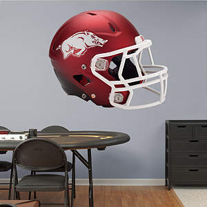 Arkansas Razorbacks Helmet Fathead Wall Decal
