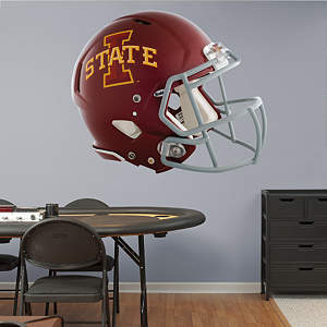 Iowa State Cyclones Helmet Fathead Wall Decal