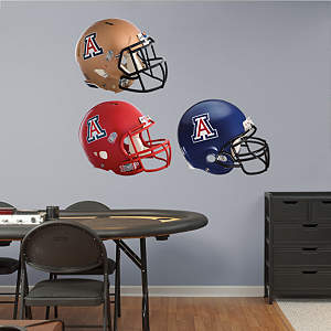 Arizona Wildcats Helmet Collection Fathead Wall Decal