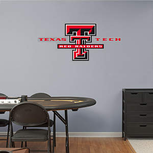 Texas Tech Red Raiders Logo Fathead Wall Decal