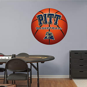 Pittsburgh Panthers Basketball Logo Fathead Wall Decal