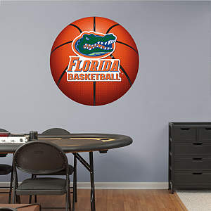 Florida Gators Basketball Logo Fathead Wall Decal