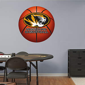 Missouri Tigers Basketball Logo Fathead Wall Decal