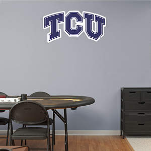 TCU Horned Frogs Logo Fathead Wall Decal