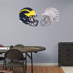 Ohio State - Michigan Rivalry Pack Fathead Wall Decal