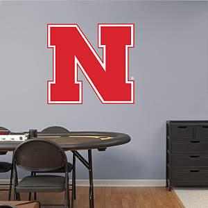 Nebraska Cornhuskers Logo Fathead Wall Decal
