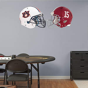 Auburn - Alabama Rivalry Pack Fathead Wall Decal