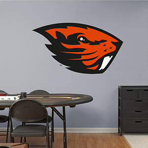 Oregon State Beavers Logo Fathead Wall Decal