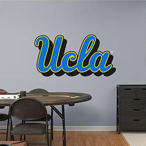 UCLA Bruins Script Logo Fathead Wall Decal