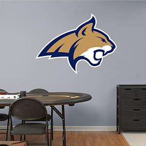 Montana State Bobcats Logo Fathead Wall Decal