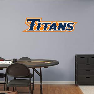Cal State Fullerton Titans Logo Fathead Wall Decal